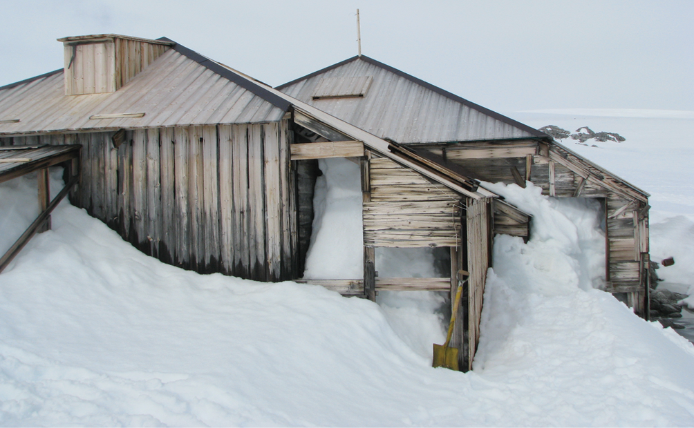 Mawson's main hut
