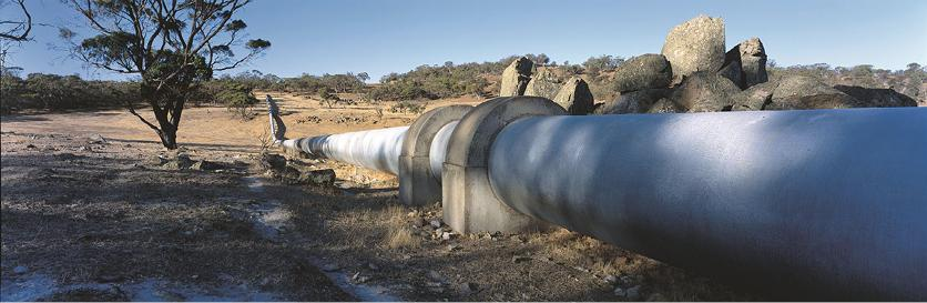 Now known as the Goldfields and Agricultural Region Water Supply Scheme, the Golden Pipeline has been delivering water more than 560 kilometres from its source for more than 110 years